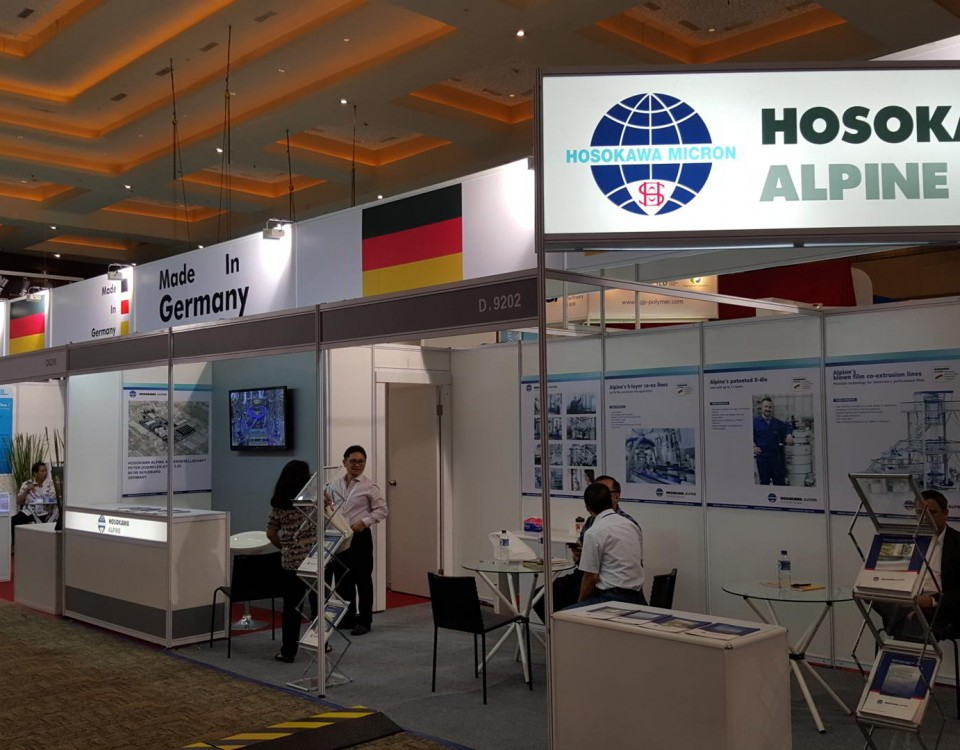 exhibition contractor Hosokawa - Plastics & Rubber Indonesia 2015
